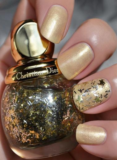 Dior Dior Diorific Vernis Midnight Wish 001 Lucky Star Oje Altın
